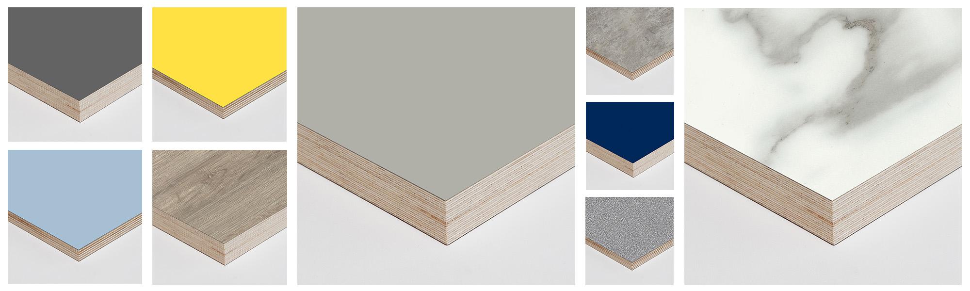Laminated Birch Plywood Panels