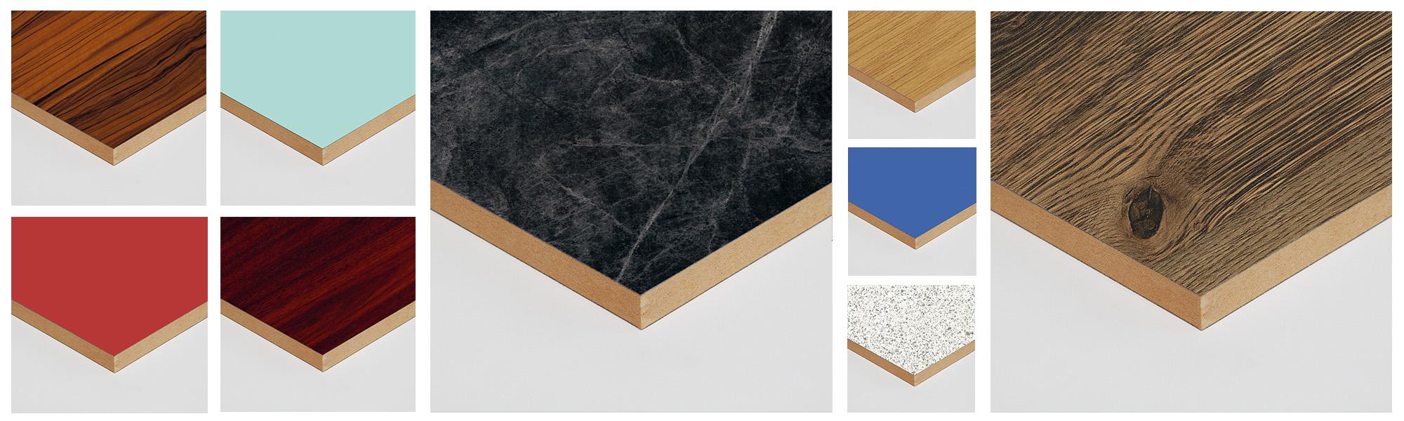 Laminated MDF Furniture Panels