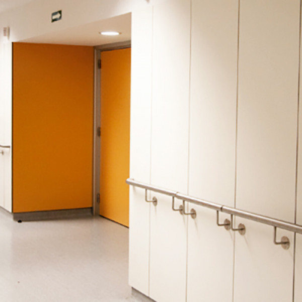 Euroclass B Fire Retardant Formica Faced Panels