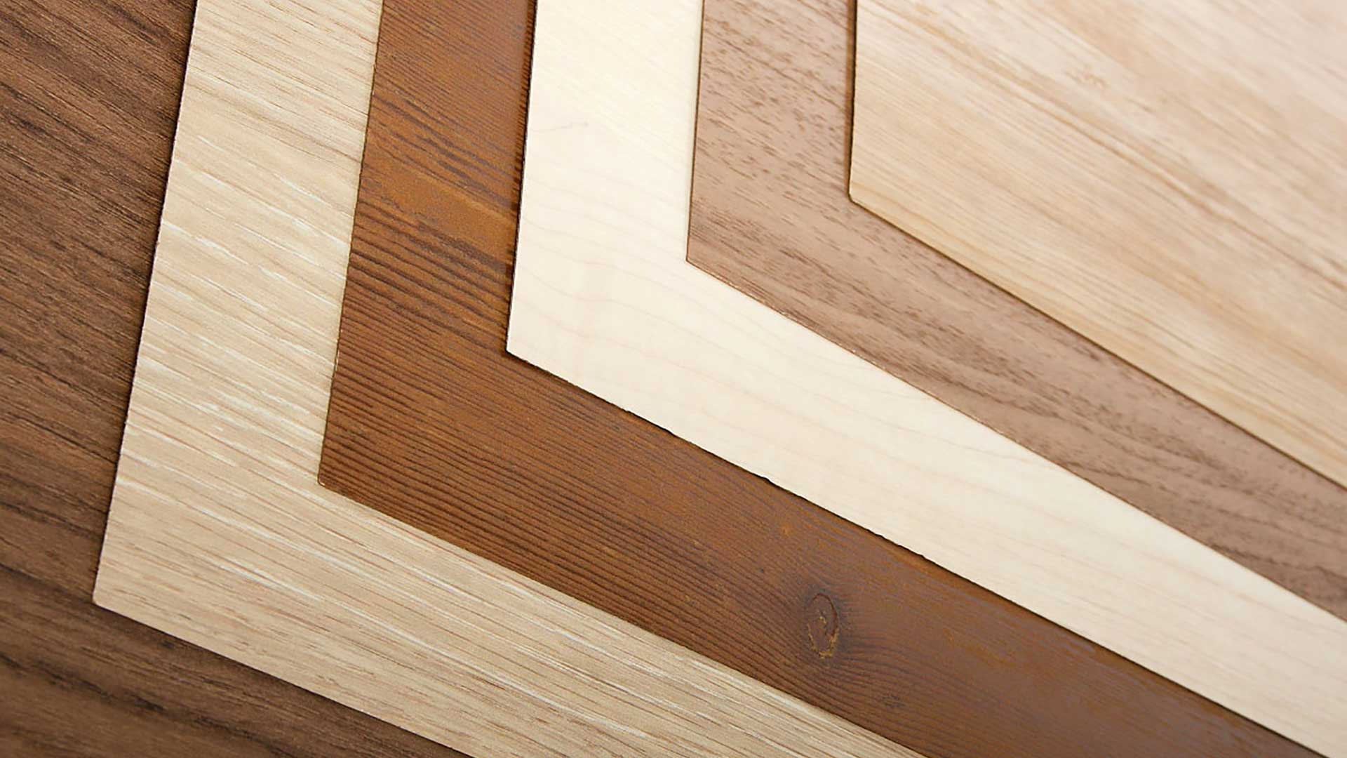 Beautifully finished wood based products for modern interiors