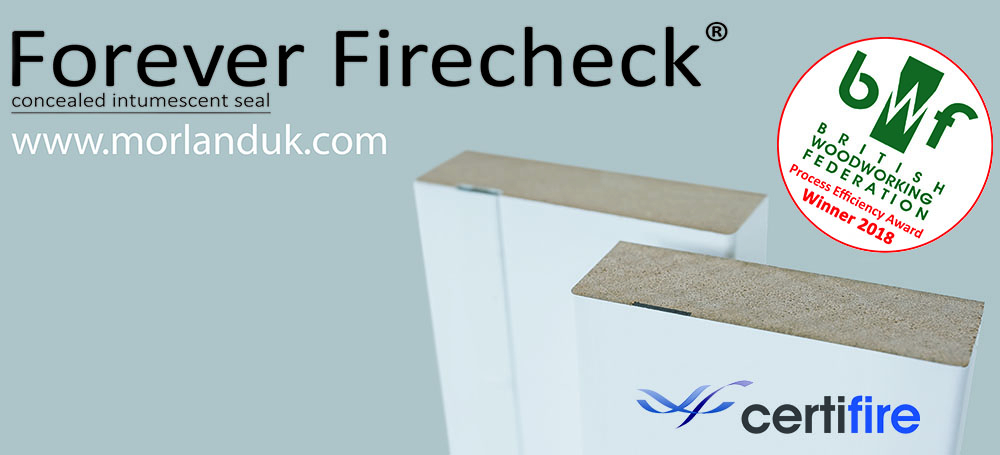 Morland Forever Firecheck® Launches at UK Construction Week 2018