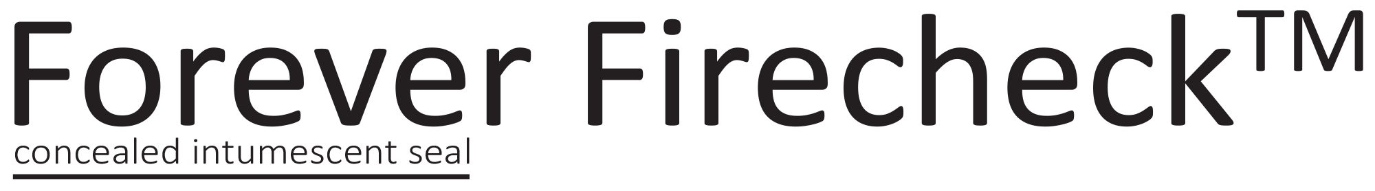 Forever Firecheck™ Concealed Intumescent Seal Logo