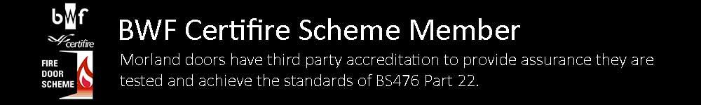 Morland Certifire Scheme Member