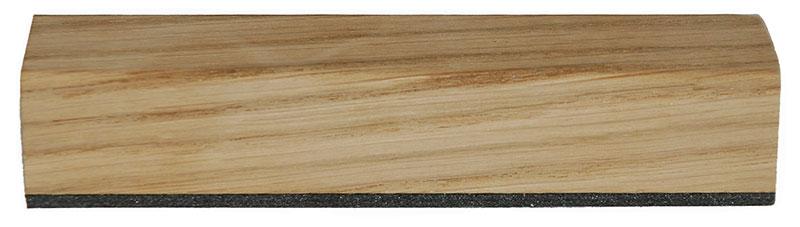 Morland oak veneer wrapped profile glazing bead