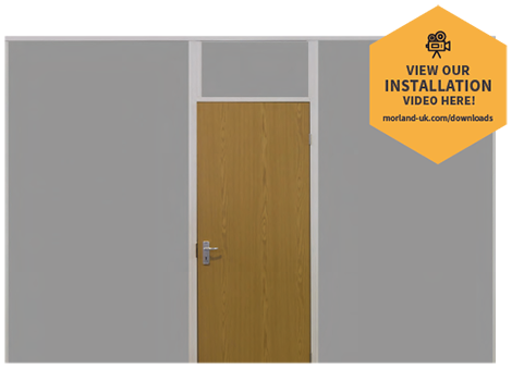 Morland Partition Kits - Central Door Position