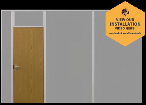 Morland Partition Kit - Offset Door
